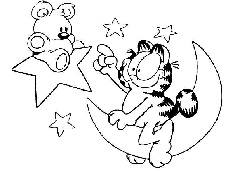 Malvorlagen Garfield-14 Malvorlagen Gratis coloring 6