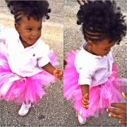 little girl natural mohawk shared