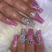 Uas decoradas | Nailssssss | Pinterest | Bling nails ...