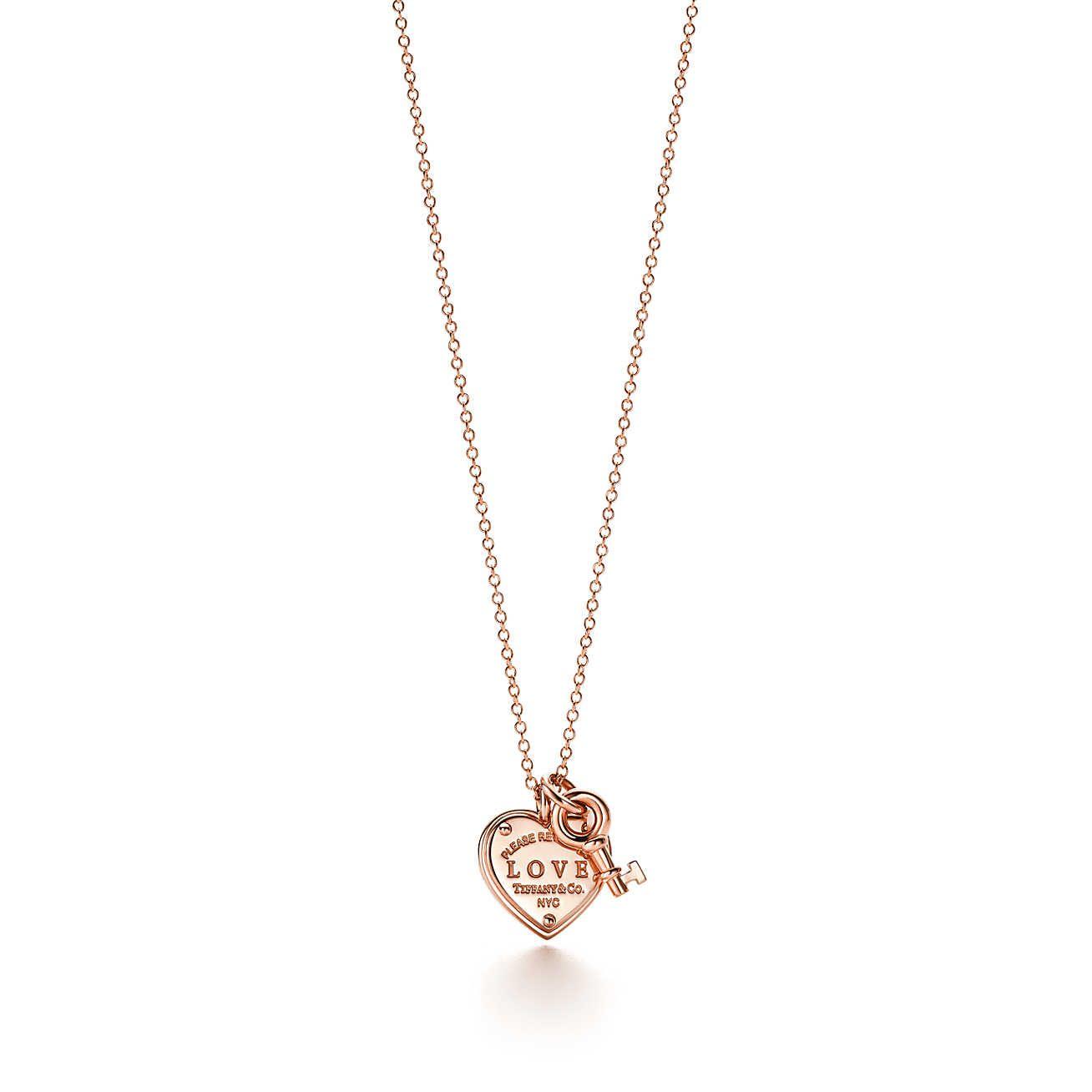 Tiffany kette herz rose gold  Modischer Schmuck 2018