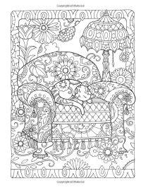 Dover Publications Creative Haven Creative Cats Coloring ...