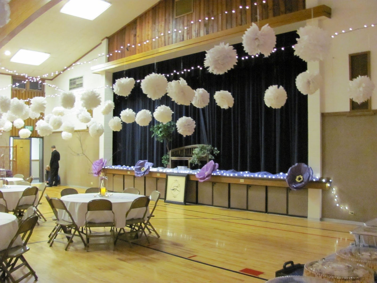 How To Decorate A Gym For A Wedding Google Search Prom