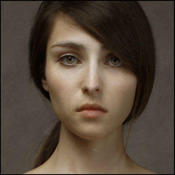 Hyper Realistic Portrait Paintings of Women