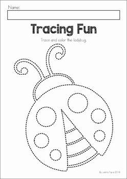 Spring Preschool Worksheets & Activities