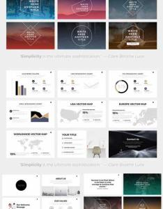 Nova minimal powerpoint template also best images about ppt on pinterest fonts creative and entrepreneur rh