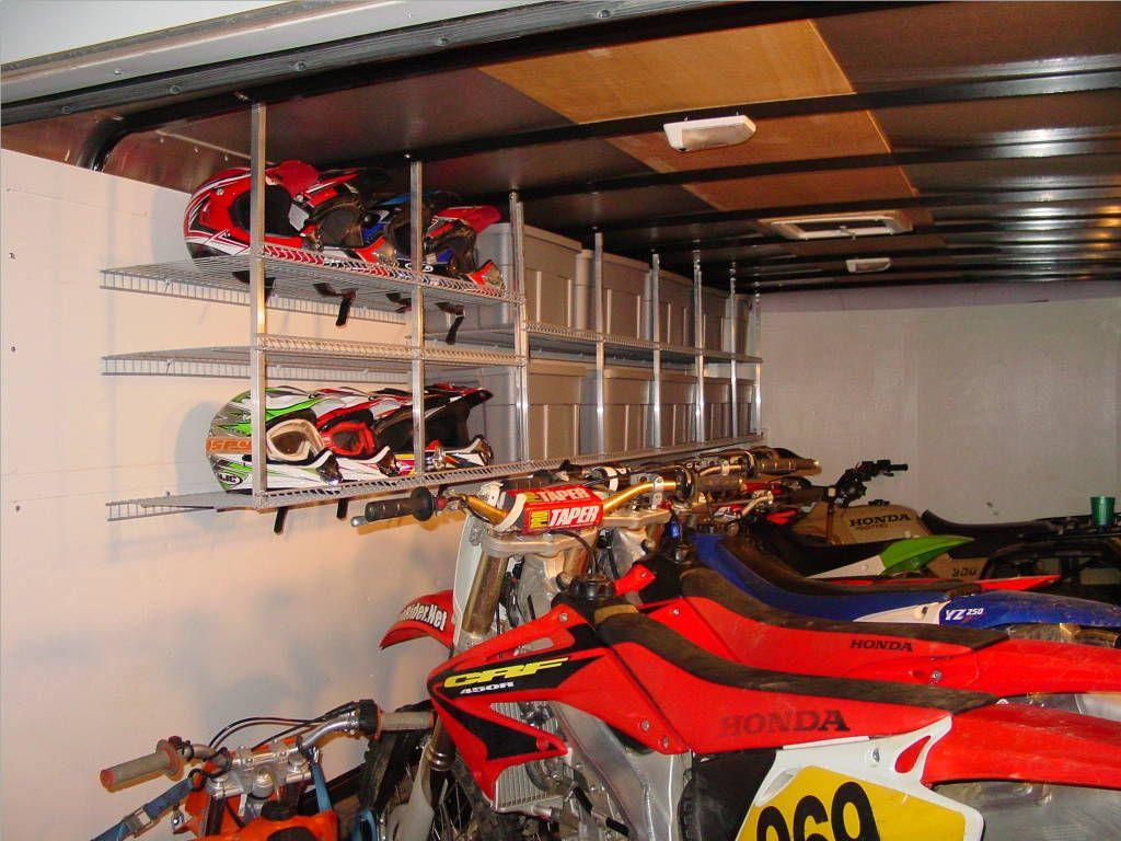 Trailer Motocross Setup Enclosed