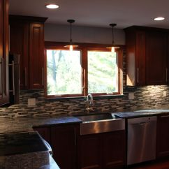 Blue Pearl Granite Kitchen Sink New Pioneer Cabinets With