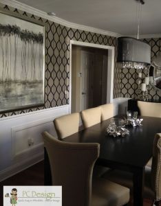 Pc design inc indian hill ohio dining room remodel after modern also rh in pinterest