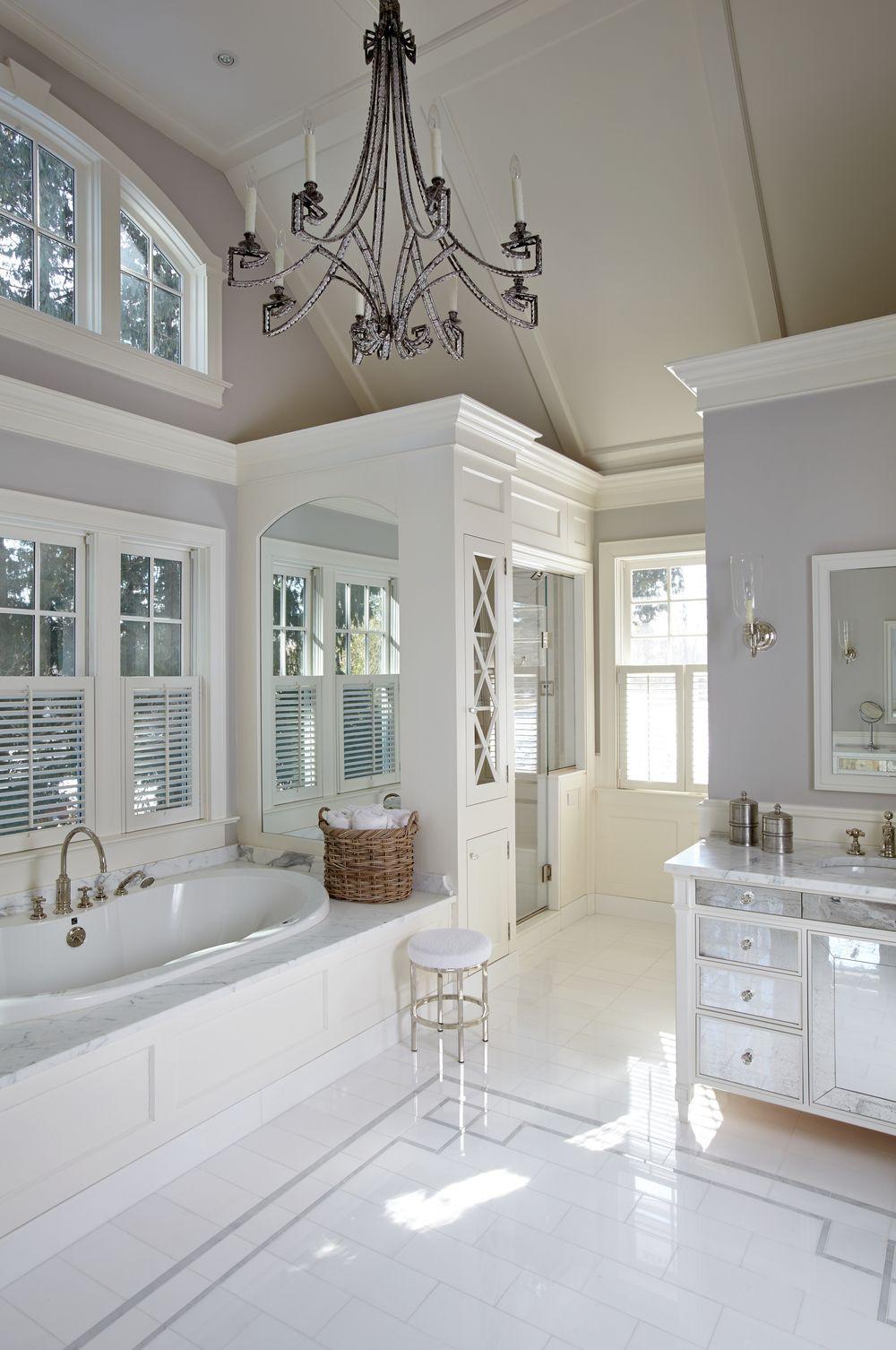 I love this bathroom floor design  Dream Bathrooms