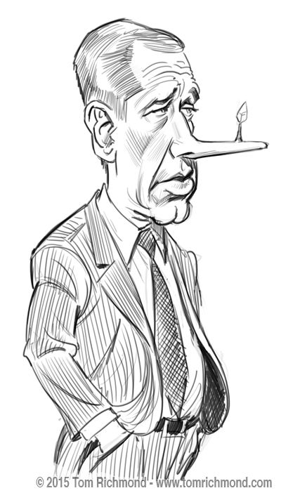 A very quick digital study of the embattled Brian Williams