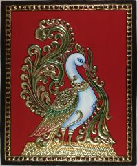 Tanjore Painting Handmade Indian Thanjavur Wall Decor Gold ...