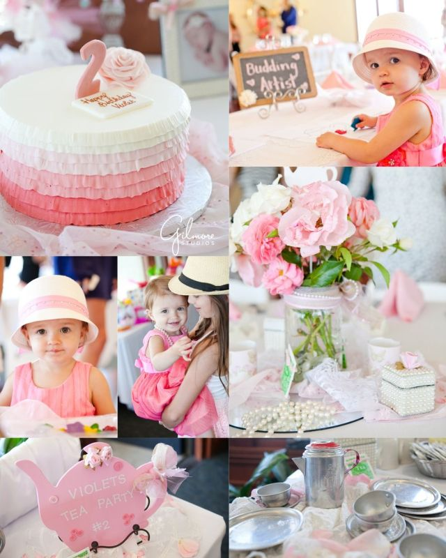 little girl 2nd birthday party ideas