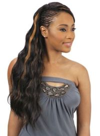 African Braided Hairstyles with waves for Black Women ...