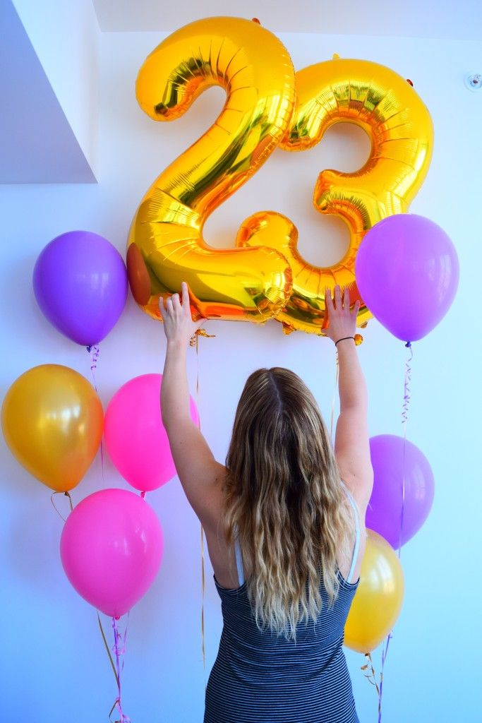 Happy 23rd Birthday Balloons