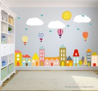 City Wall Decals Wall Decals Nursery Baby Wall by ...