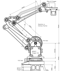 Energy Transfer Diagram For A Torch 1999 Toyota Camry Exhaust System Image Result Robot Arm Drawings ميكاترونيكس