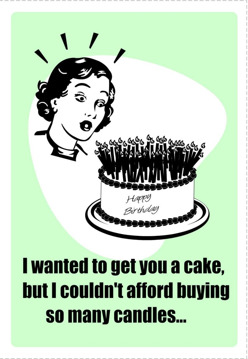 Birthday card humor free printable i wanted to buy