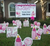 Baby girl welcome home #baby #idea