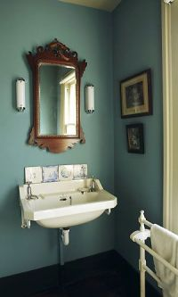 Like this muted teal - might be repainting the entire ...