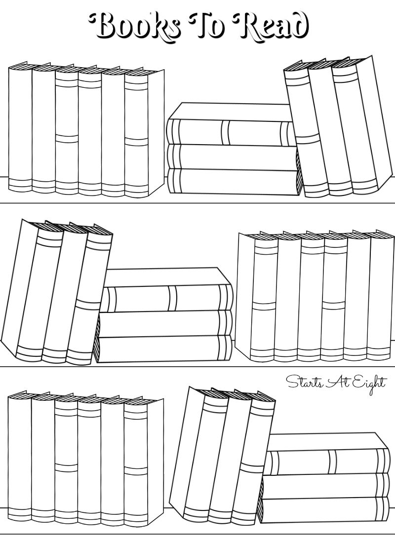 FREE Printable Reading Logs ~ Full Sized or Adjustable for