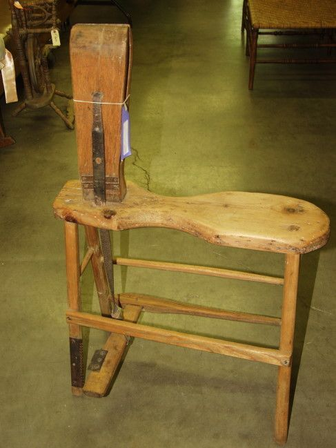 Harness Vice 150 Antique Harness Maker Leather Wood