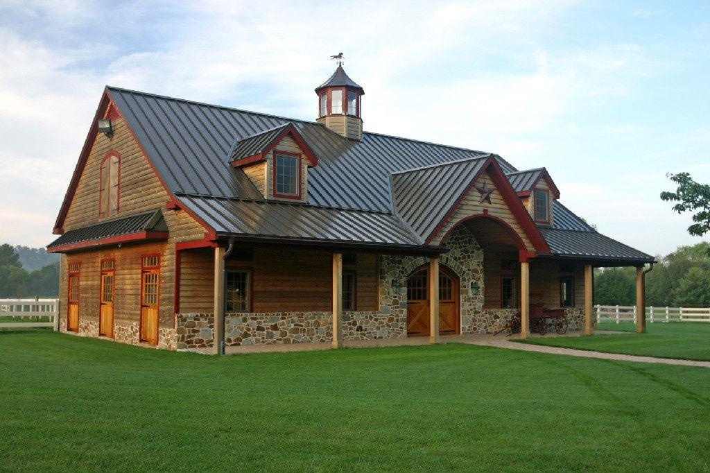 Pole Barn Houses on Pinterest