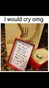 This is soooo cute and sweet!!! | Rings | Pinterest ...