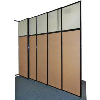 The Tall Wall sliding wall partition offers an excellent ...