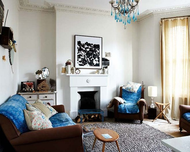 Renovated Victorian House Home Interior Decorating 1 Modern