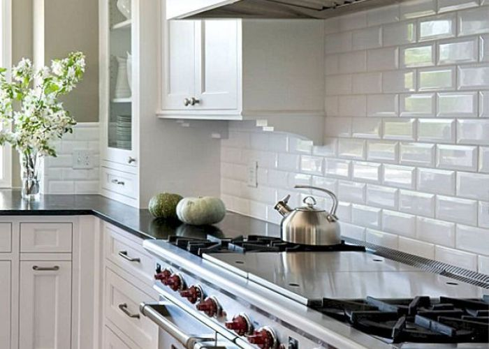 classy white subway tile inspiration to decorate your kitchen also