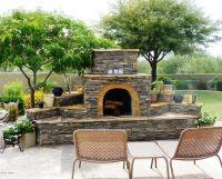 Fireplace for patio | Backyard/Exterior | Pinterest ...
