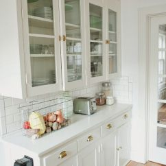 White Kitchen Cabinets Glass Doors Country Chair Cushions Original 1920s Built Ins Want To Recreate These With Ikea