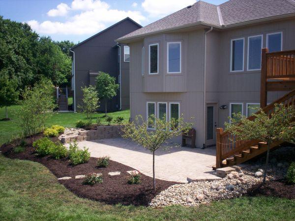 patio landscape - google