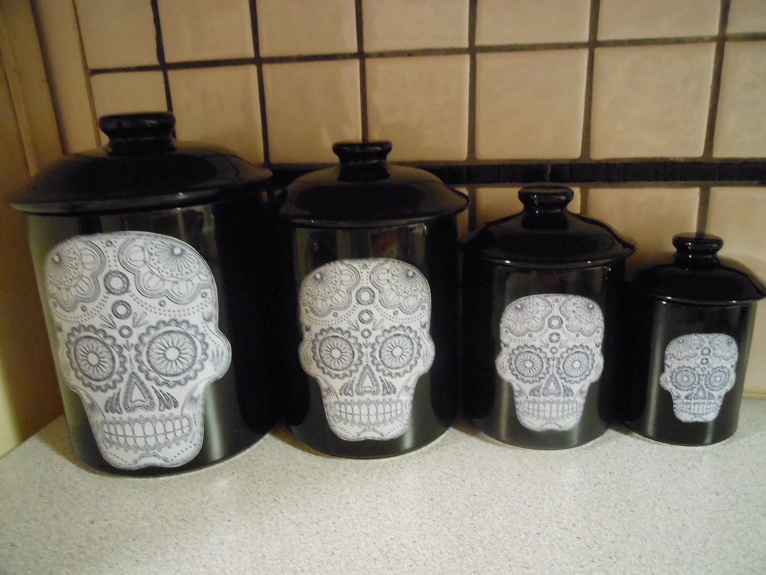 decorative kitchen canisters sets kohler fairfax faucet best 25 43 canister ideas on pinterest mason jar