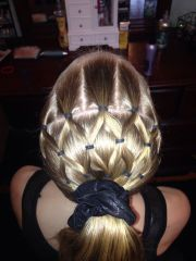 gymnastics hairstyle hairstyles