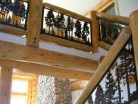 Balcony Panel (metal art silhouette deck and loft railing ...