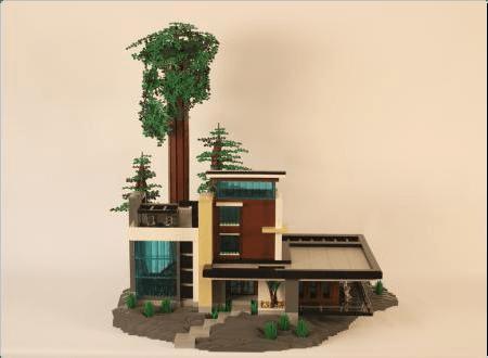 Modern House ReBrick From LEGO Fan To LEGO Fan Lego Houses