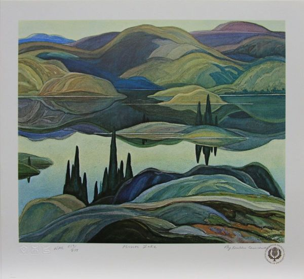 Franklin Carmichael - Mirror Lake Canadian Painters