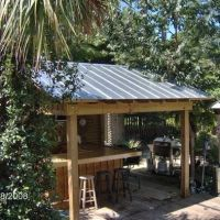 pictures of rustic outdoor poolhouses | Outdoor Bar Design ...