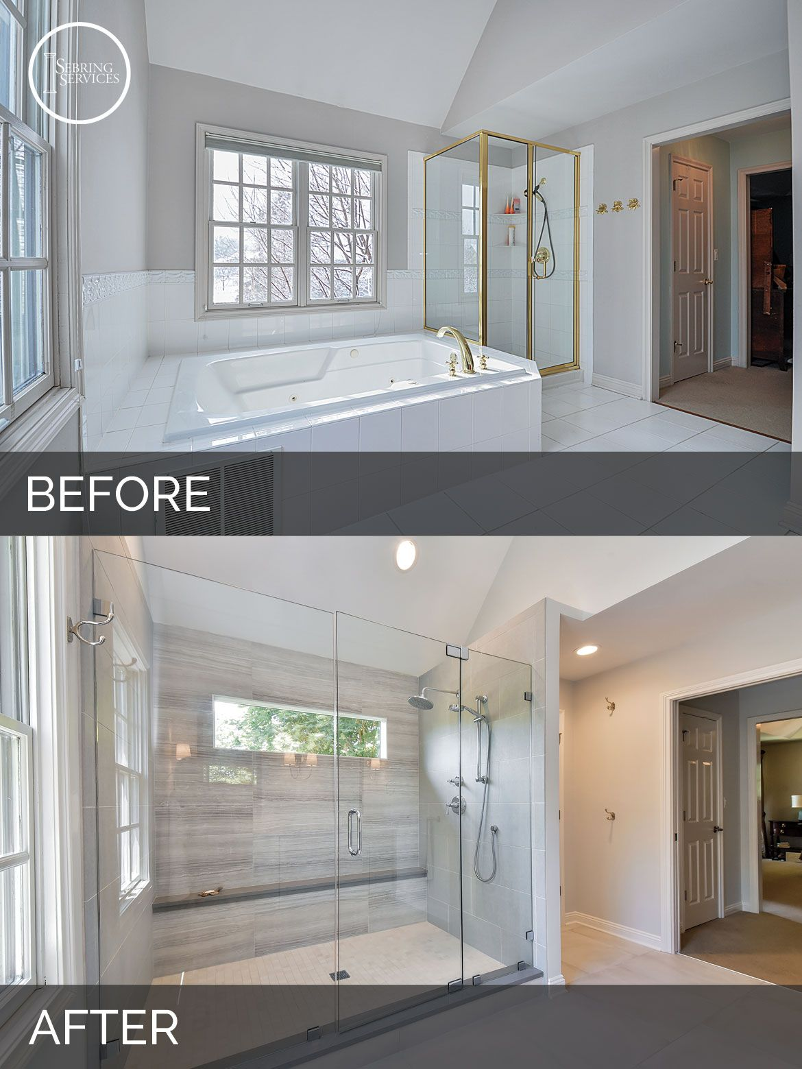 Carl  Susans Master Bath Before  After Pictures