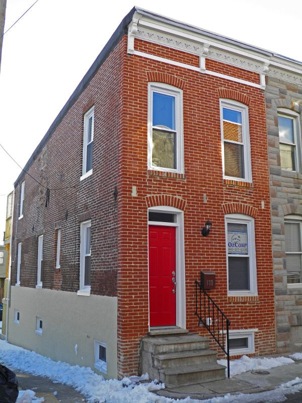 Baltimore Rowhome Renovation Row Homes Pinterest Home