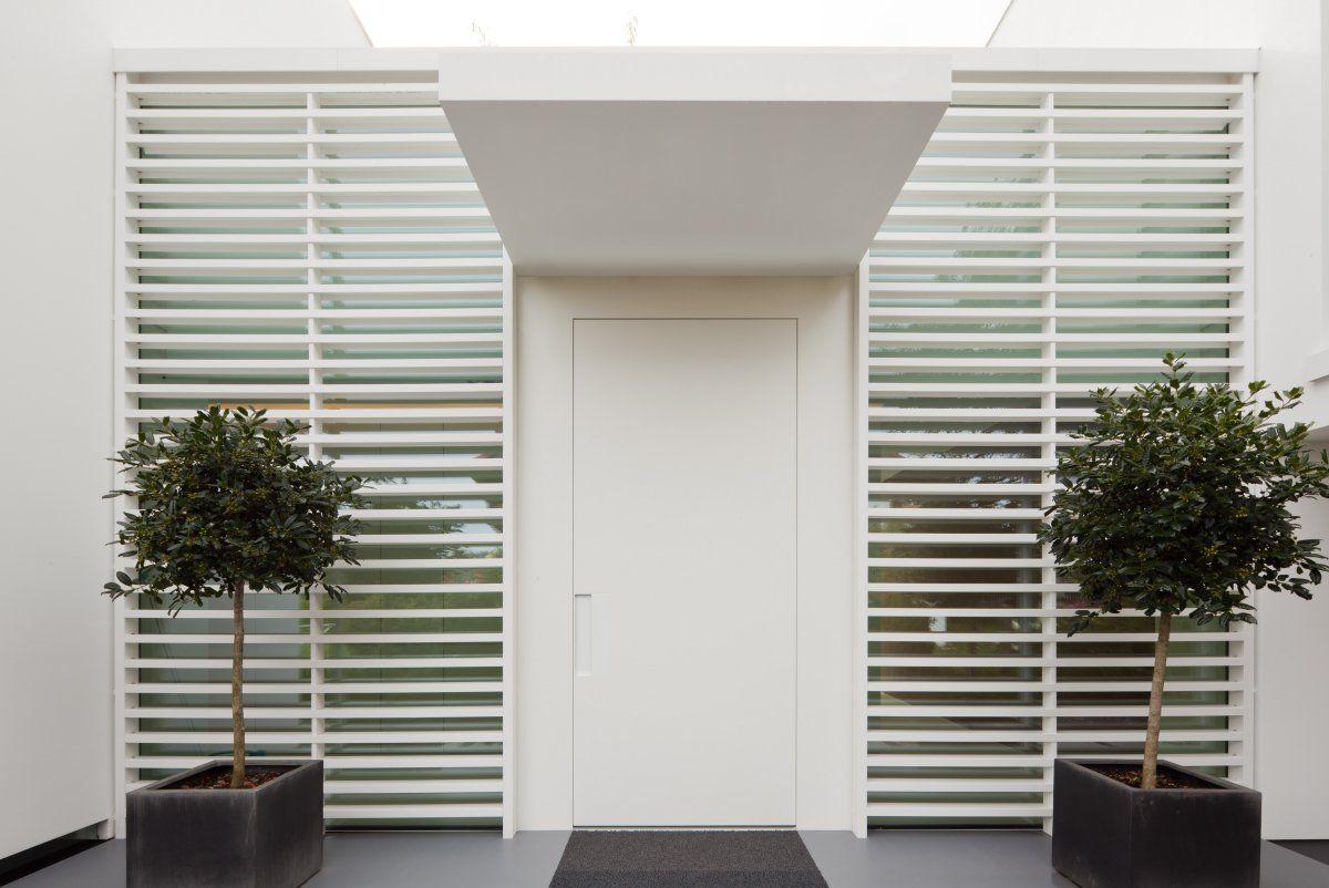 apartment building entrance design EXTERIOR  Cutare