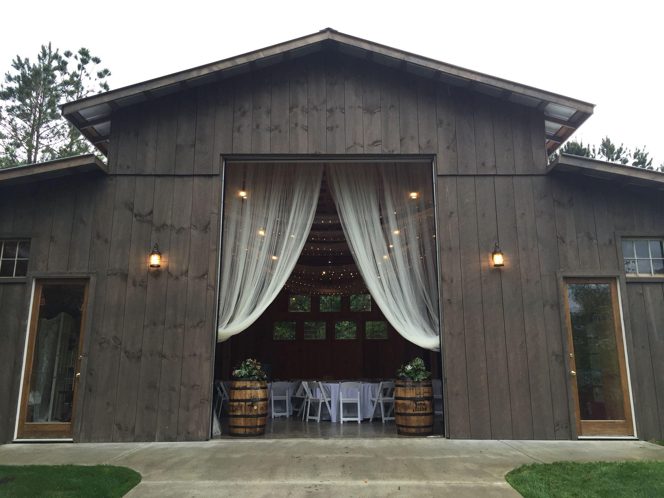 The Coffey Barn Cleveland TN Wedding Venues In
