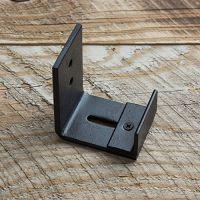 Wall Mount Floor Guide for Barn Door Hardware, Powder ...