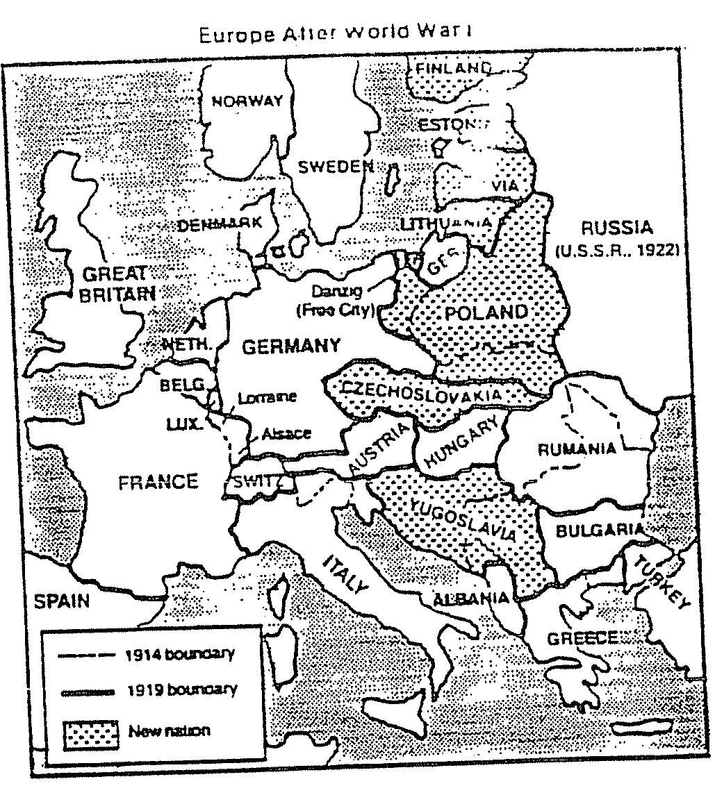 Ww1 Map Of Trenches