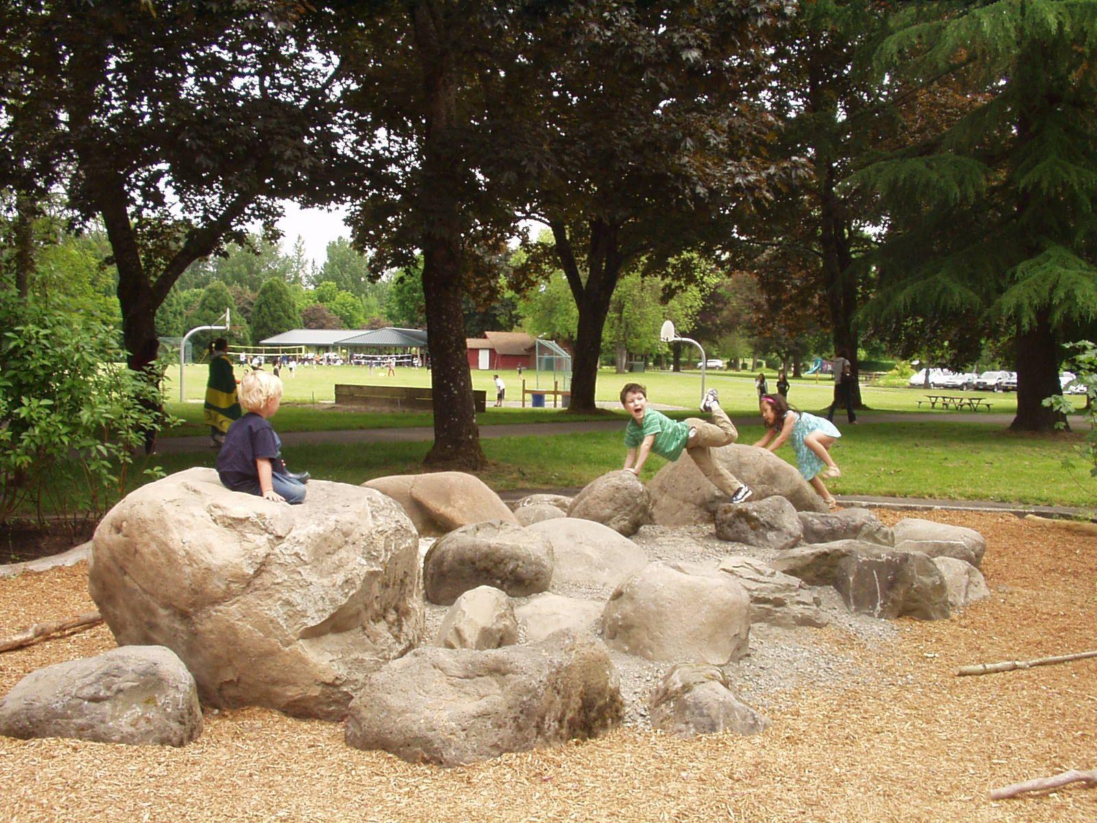 Large Flat Landscaping Rocks