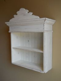 Distressed White Cabinet, Bathroom Cabinet, Kitchen