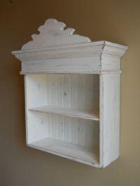 Distressed White Cabinet, Bathroom Cabinet, Kitchen ...