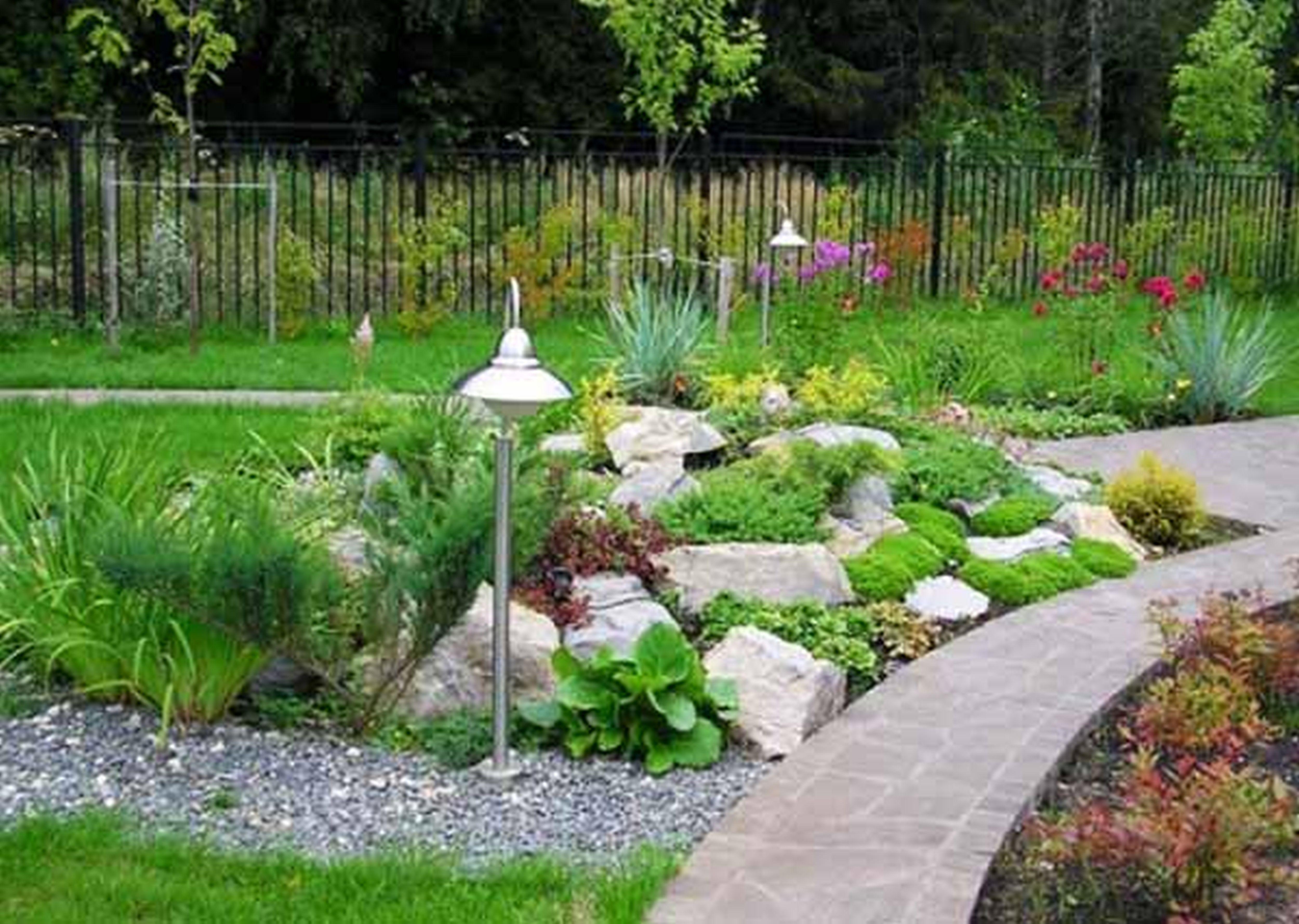 Rock Garden Ideas For Front Yard Luxury Home Design Gallery