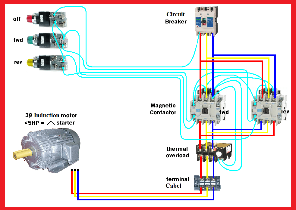 reversible motor wiring diagram